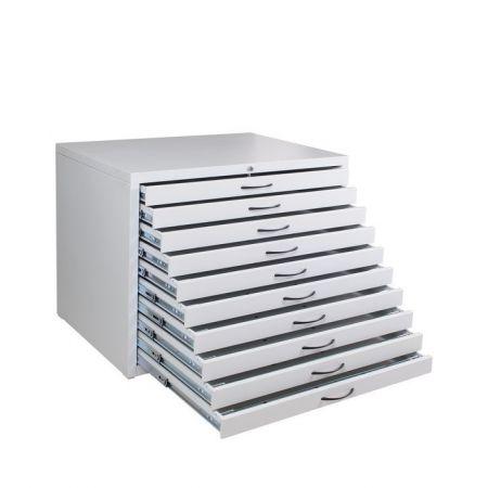 Шкаф  для чертежей (маппер) - А1х10