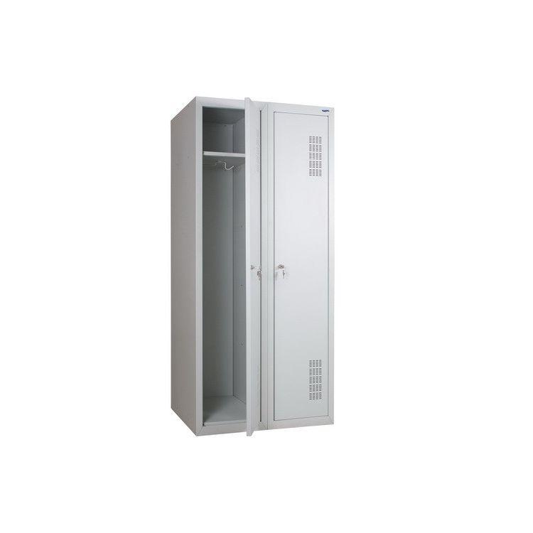 Шкаф металлический одежный  ШОМ-400/2