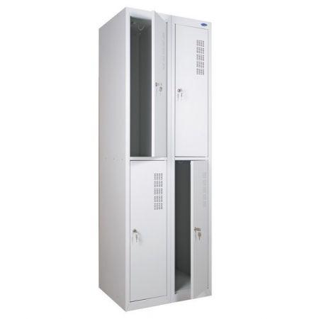 Шкаф металлический одежный ШО 400/2-4