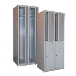 Одежные шкафы металлические, гардеробные, локеры