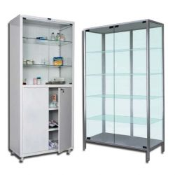 Медицинские шкафы, аптечные, лабораторные