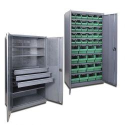 Инструментальные шкафы металлические