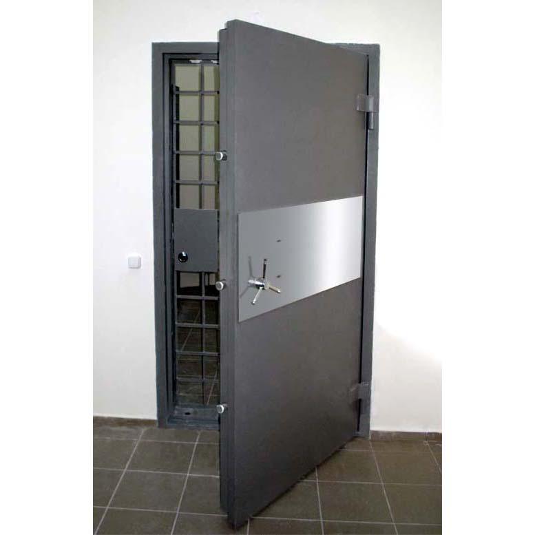 двері сховищ цінностей, банківськи двері