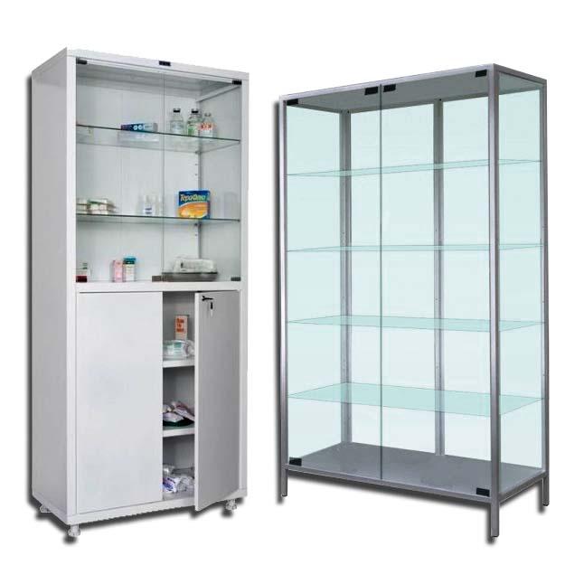 шафи металеві медичні, аптечні